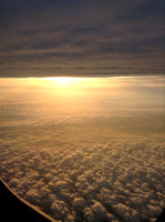 Airplane Sunrise